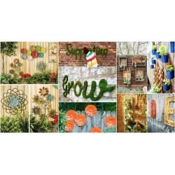 Small Crop Of Backyard Fence Decoration Ideas