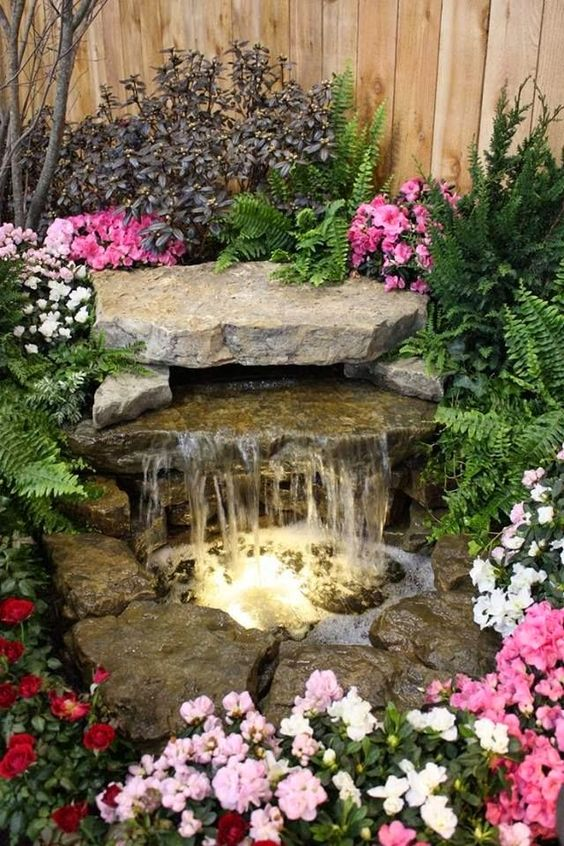 romantic-water-fountainjpg 564×846 pixeles Moja Pinterest