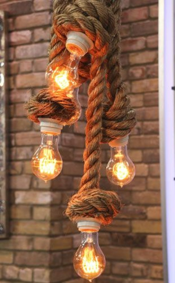 Badezimmer Lampe Industrial Brilliant Rope Decor Ideas That Will Leave You Speechless