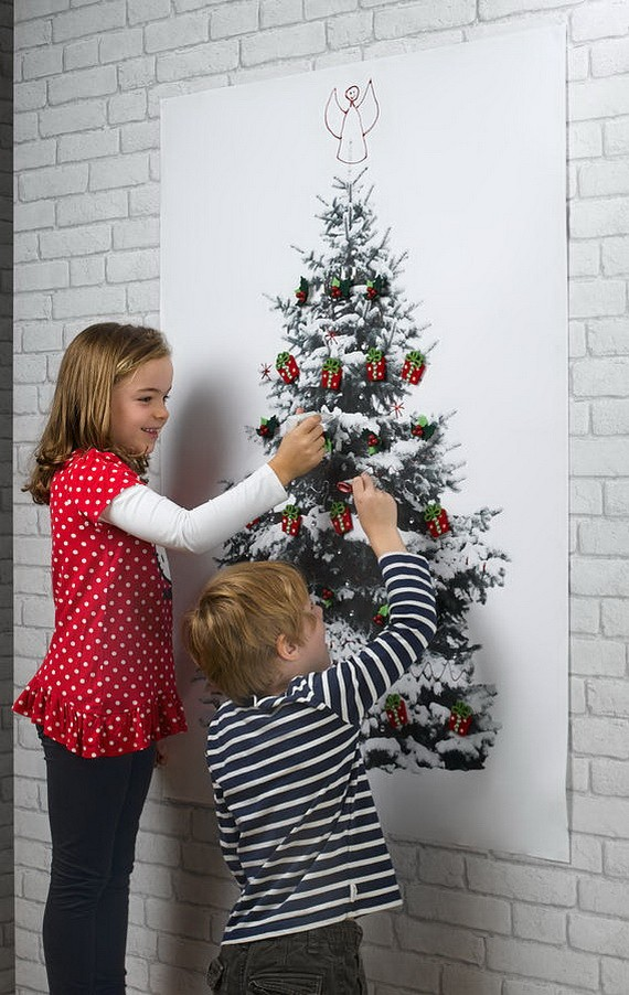 Fascinating Kids Room Christmas Decorations