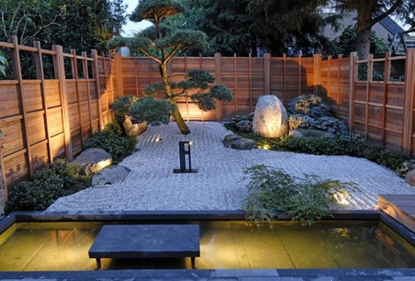 Japanese Garden Decorating Ideas Fantastic Garden Landscape Ideas At Night That Will Make