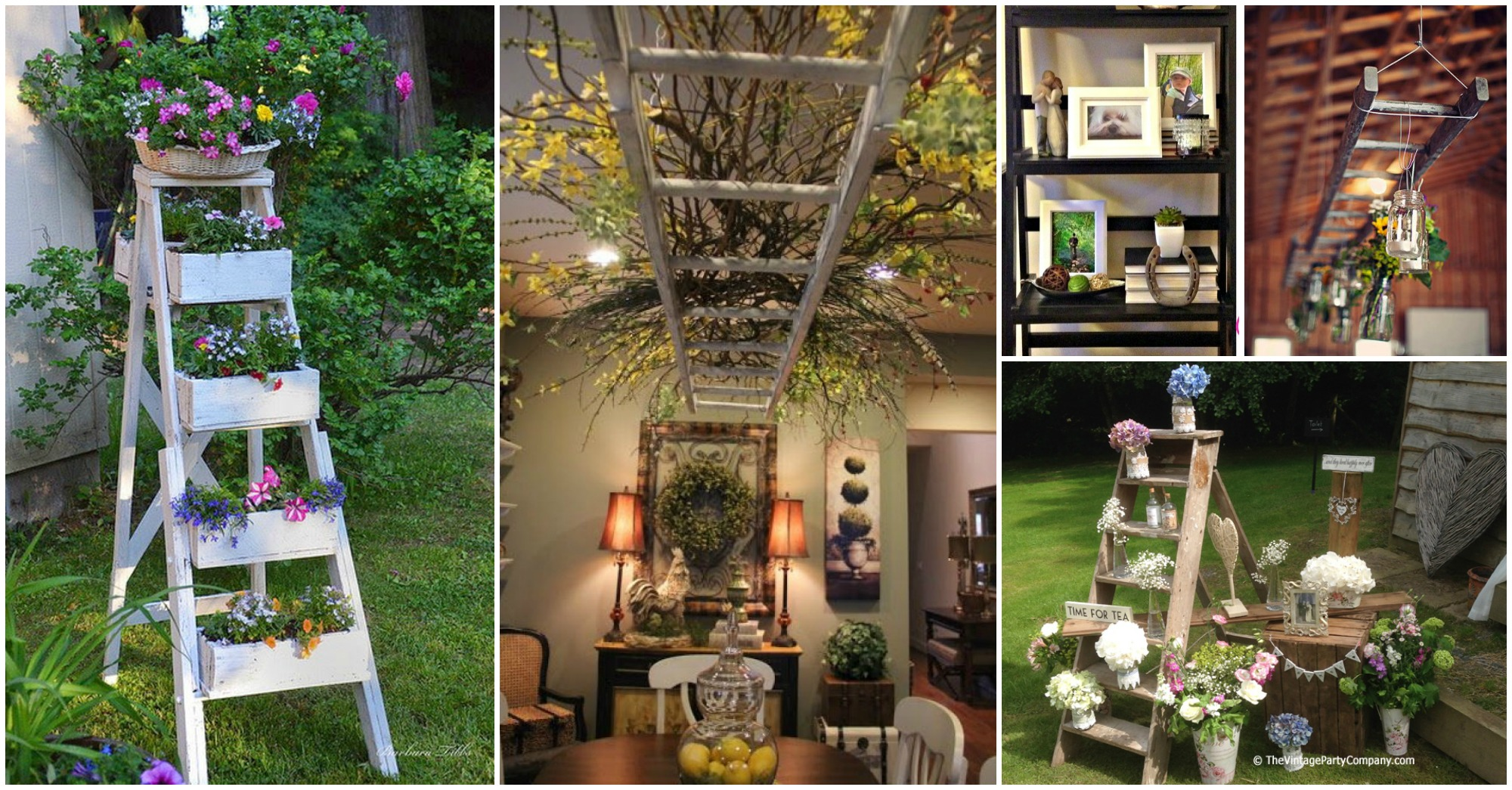 Mesmerizing Ladder Decor Ideas You Have To Check