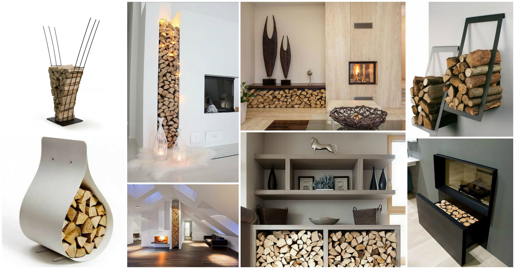 Outstanding Modern Firewood Storage Ideas Saveenlarge