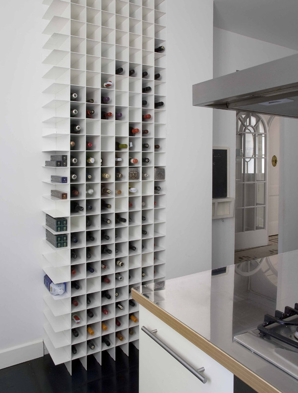 Cocinas Blanca Amazing Kitchen Wine Storage Ideas For Your Modern Home