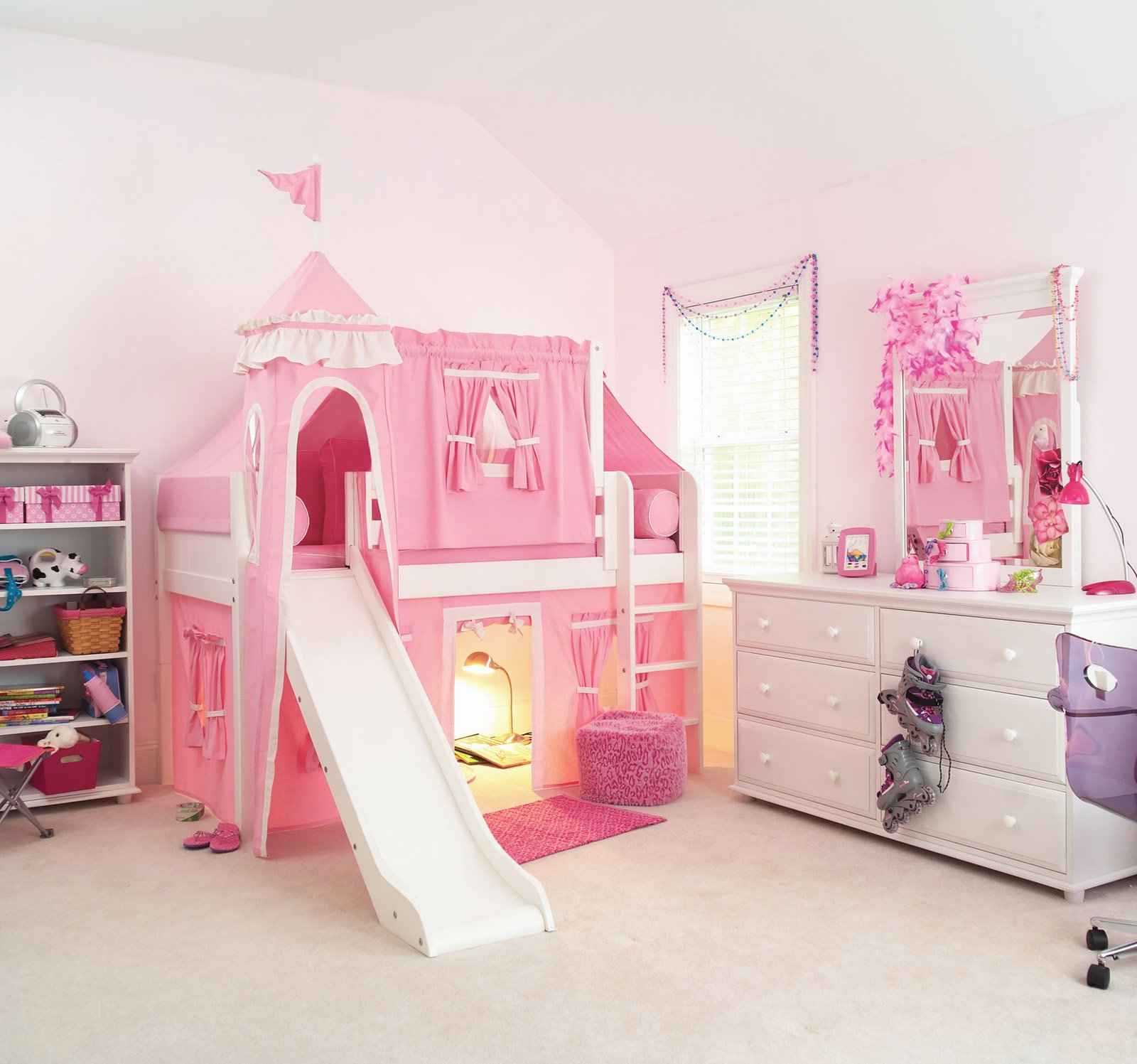 Bed Girl Princess Castle Beds For Girls Feel The Home