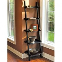 Build A Leaning Ladder Bookshelf | Feel The Home