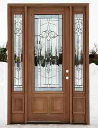 Cheap Entry Doors With Sidelights | Feel The Home