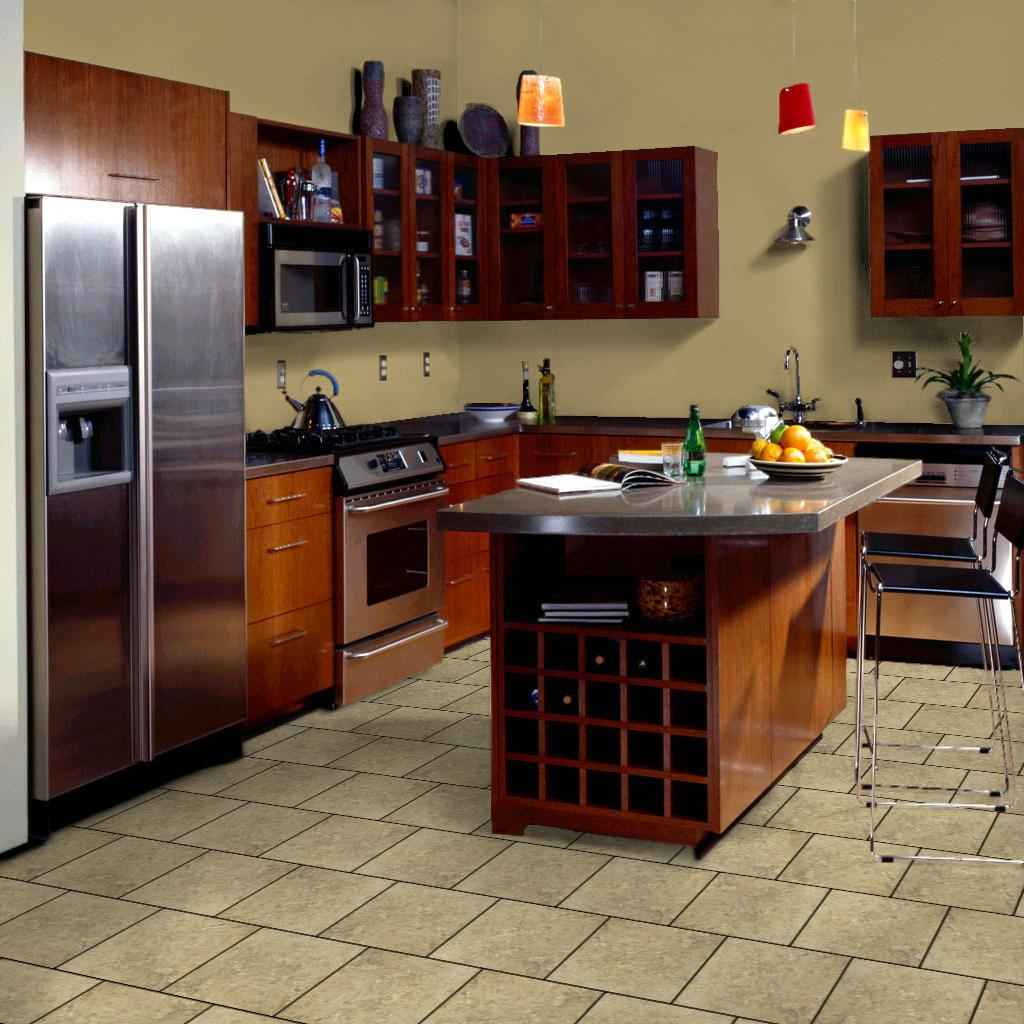 Picture Tiles For Kitchen Brick Kitchen Flooring Feel The Home