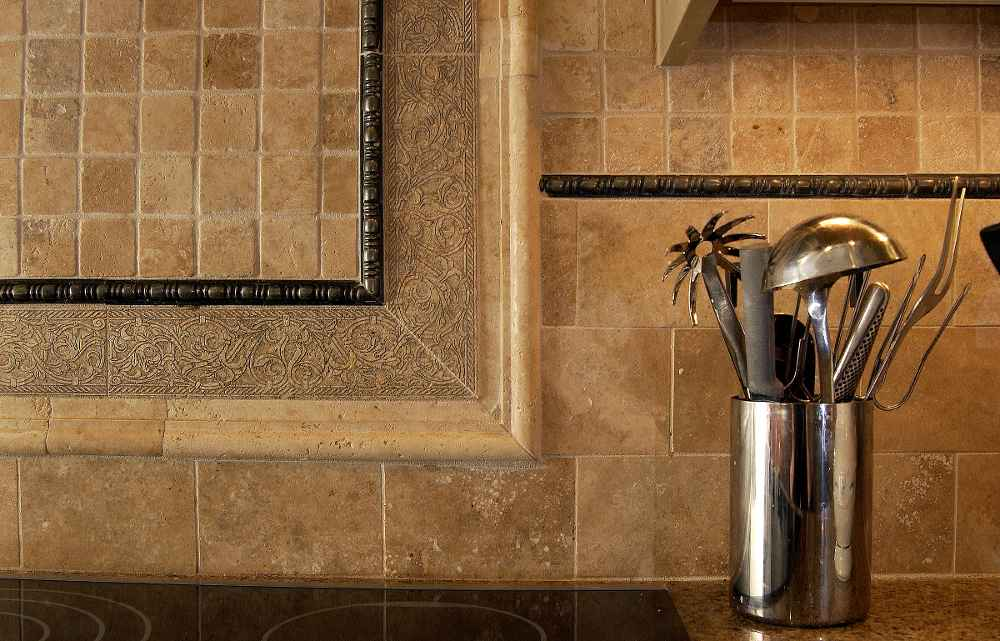 beautiful stone kitchen backsplash ideas love pattern copper backsplash photo