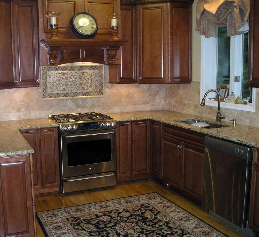 layered slate tiled backsplash uba tuba granite kitchen counter kitchen backsplash sandstone backsplash kitchen sandstone splashback