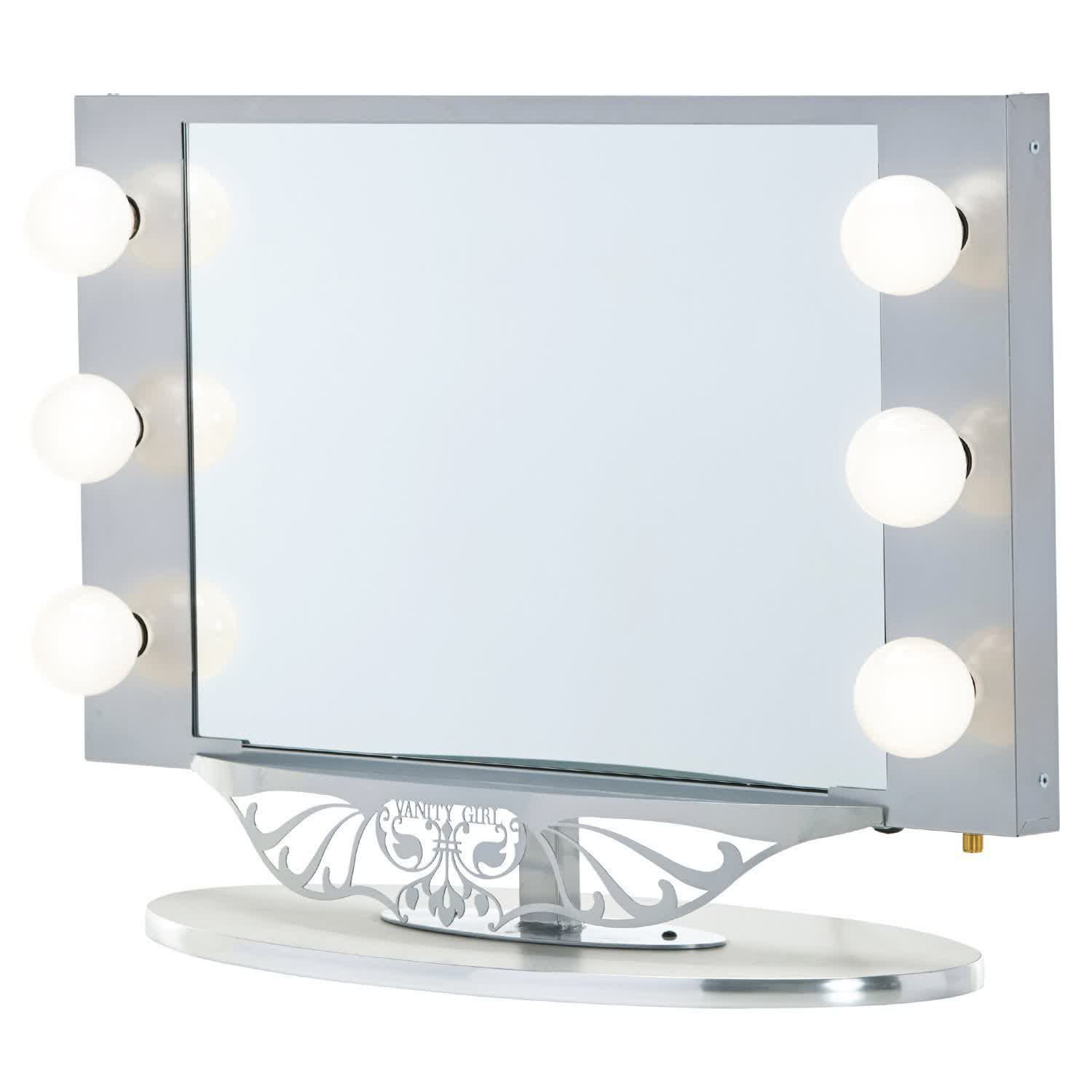 Vanity Mirrors Lighted Vanity Wall Mirror Feel The Home