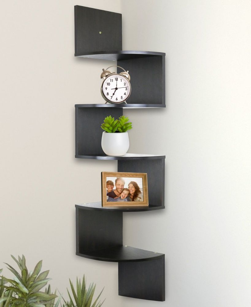 Wall Shelf Design The Practical Corner Wall Shelves Design
