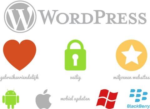 Feeny maakt gebruik van WordPress