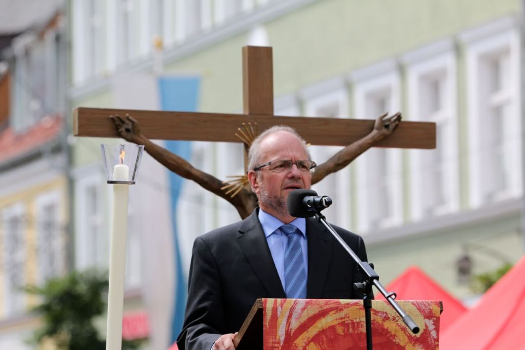 Gerd Ballon, Pastor der FeG FFB. (c) Christian Horger