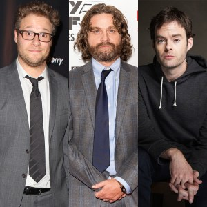 Seth Rogen, Zach Galifianakis, Bill Hader to Star in 'The Something'