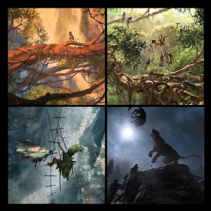 The Jungle Book+concept art-cover