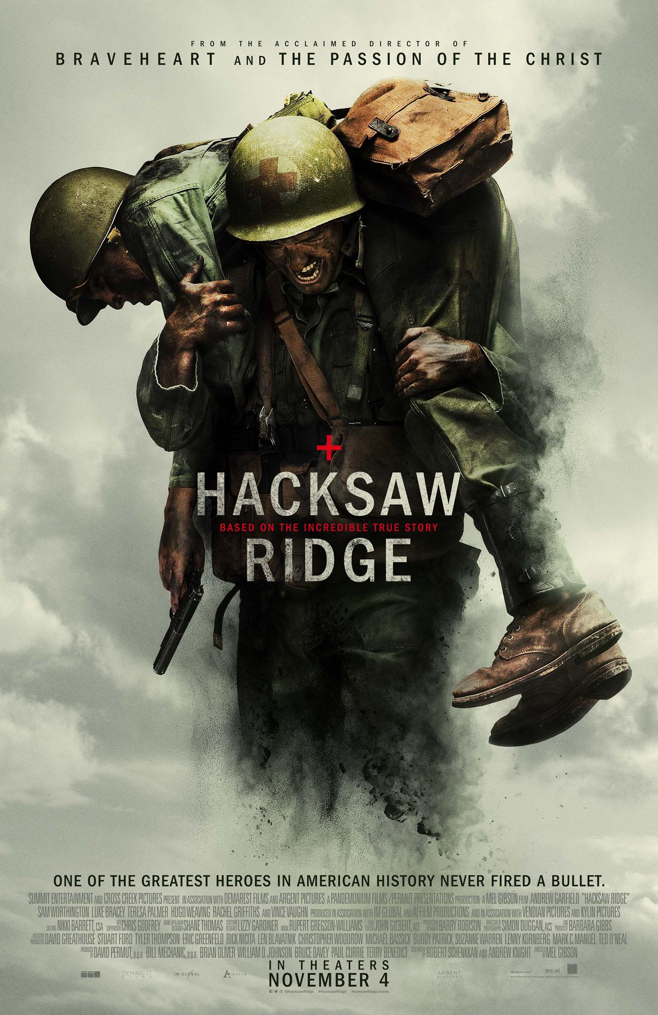 鋼鐵英雄+hacksaw ridge