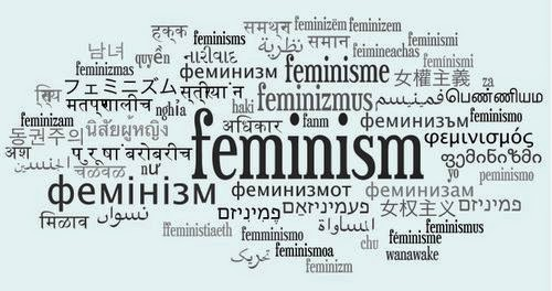 """Feminism is a ball being thrown around by people for whom politics is a mere playground"""