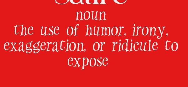 sociology - satire. definition