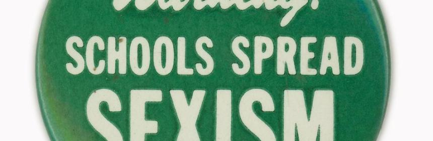 sexism - schools and sexism