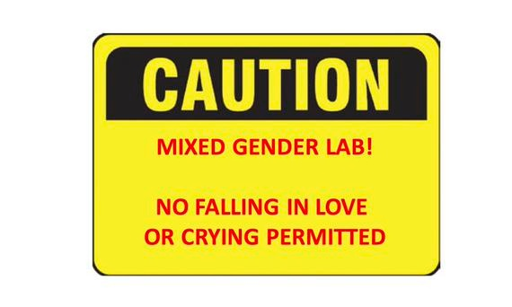 #todayin: misogyny: stories of sexism in science: 'sorry about all the women in this laboratory'