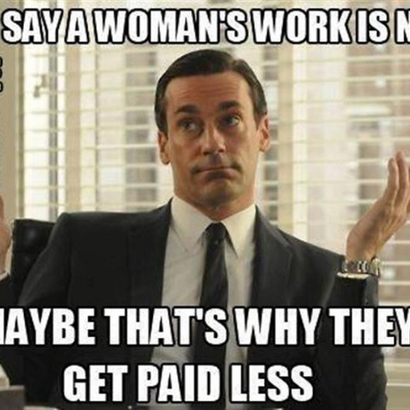 #todayin: you have got to be joking! As women take over male-dominated field, pay drops – @clairecm