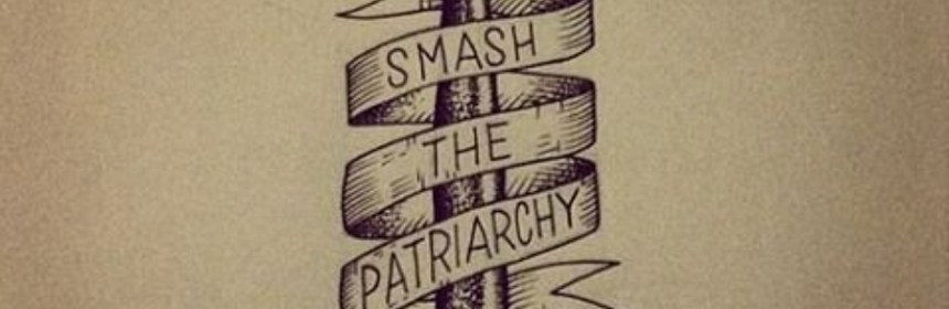women - smash the patriarchy hammer