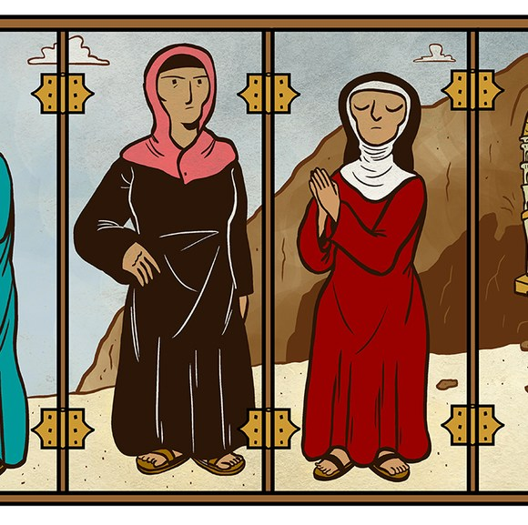 #todayin: erasure of women: the rebel virgins and desert mothers who have been written out of Christianity's early history