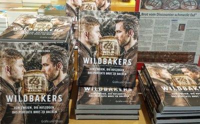 Wildbakers Backbuch: Jörg Schmid bäckt am 15.9. live in Kirchheim / Teck