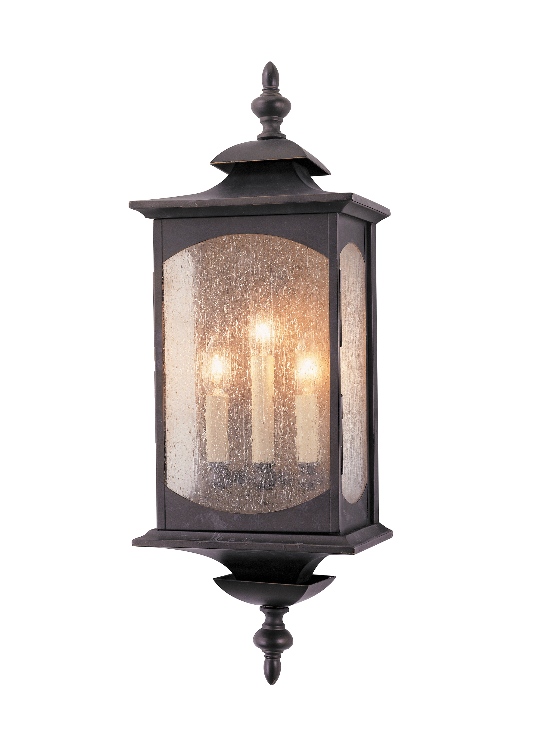 Lighting Wall Lights Ol2602orb 3 Light Wall Lantern Oil Rubbed Bronze