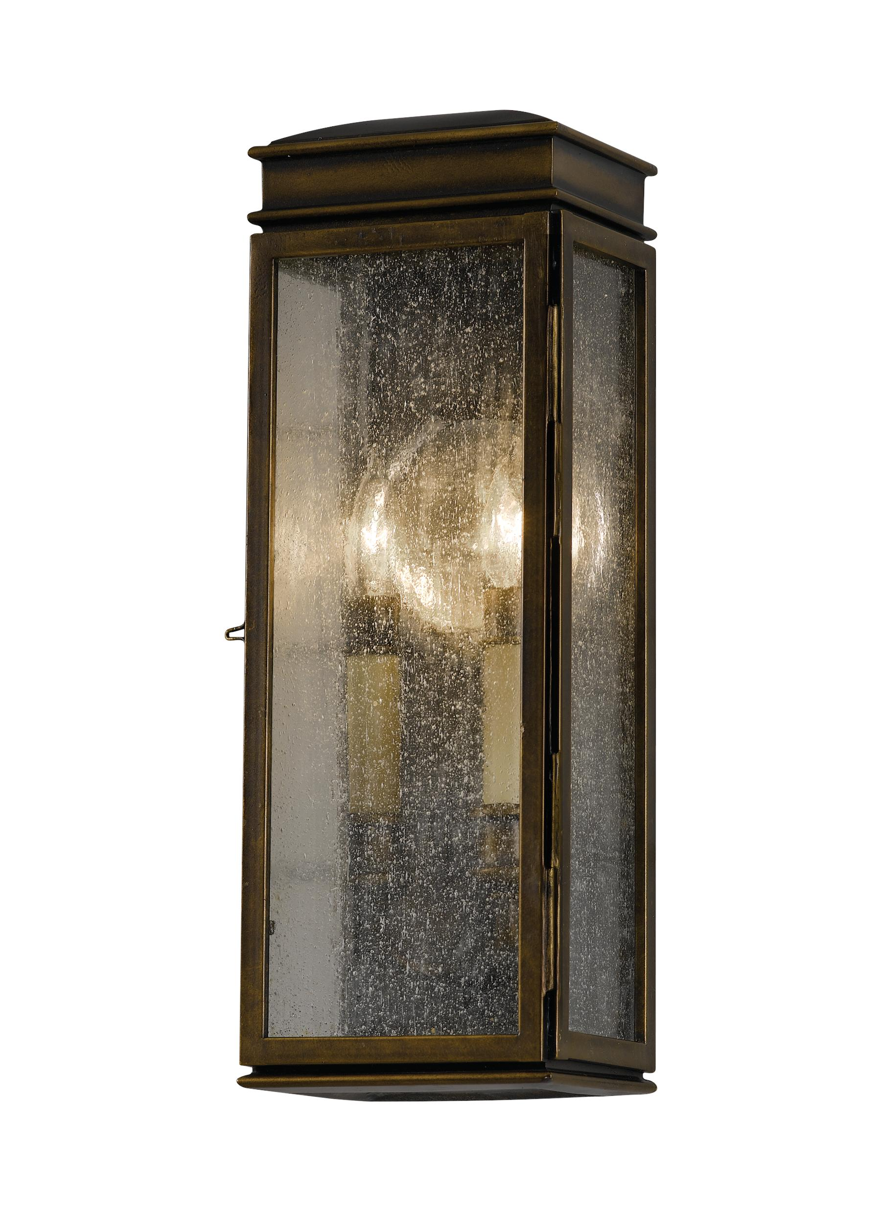 Lighting Wall Lights Ol7400astb 2 Light Wall Lantern Astral Bronze