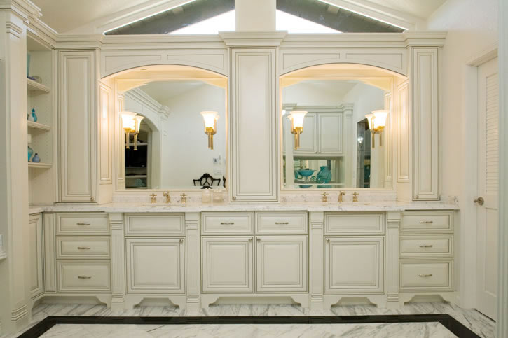 Wholesale Vendors For Home Decor Painted And Glazed Bathroom Vanity – Feist Cabinets And