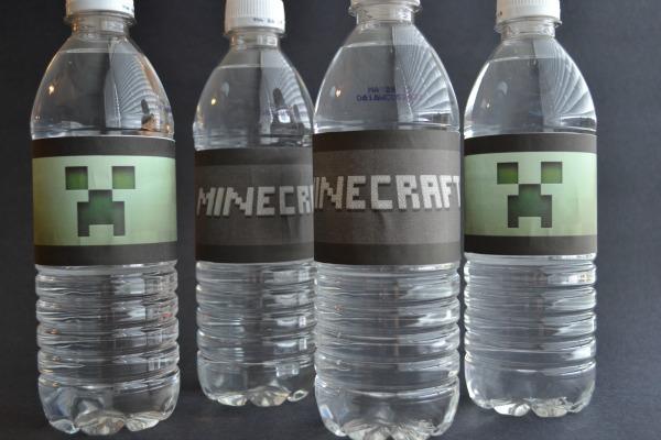 Minecraft labels