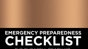 Duracell Emergency Preparedness Checklist