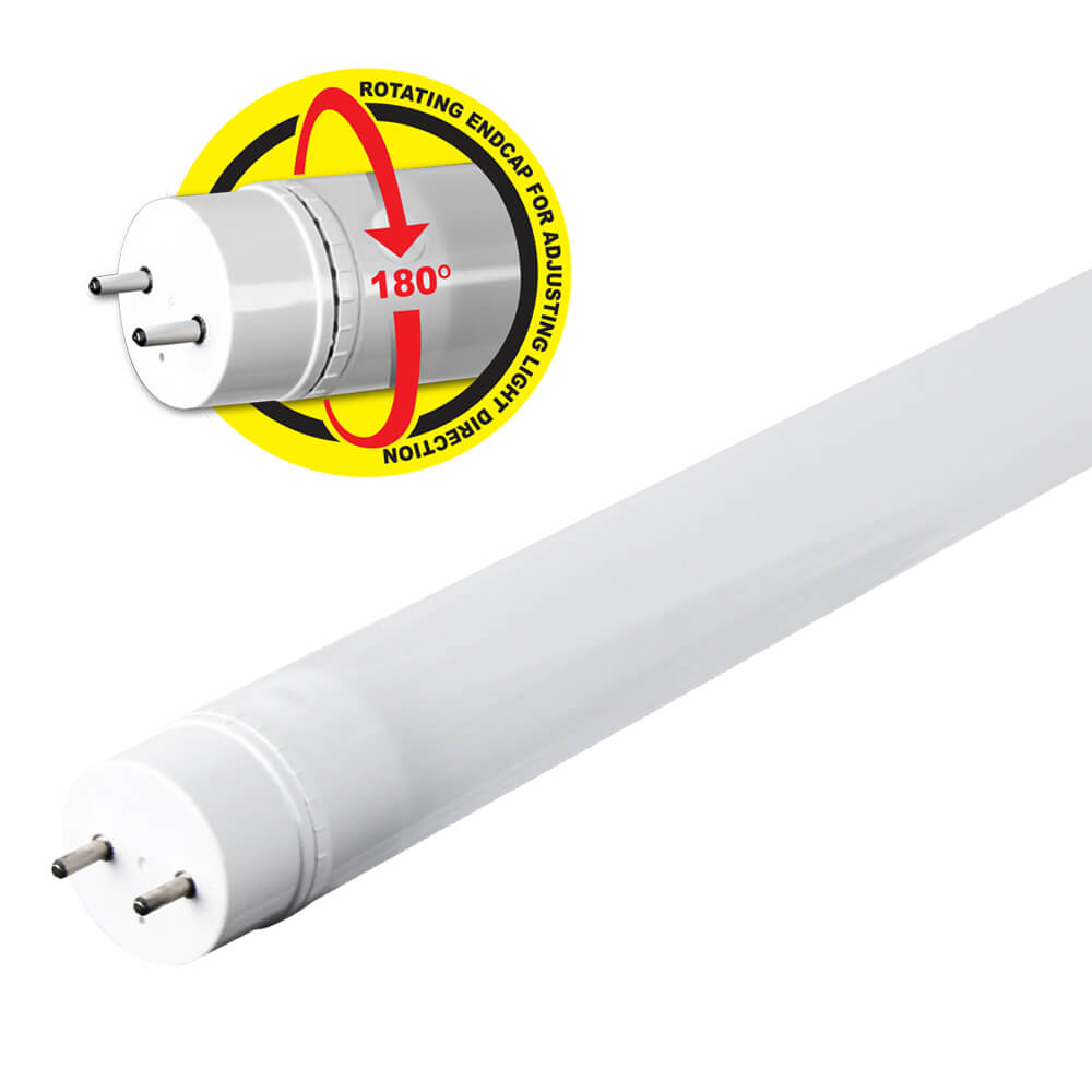 T12 Fluorescent Light Fixtures 4ft Led 4100k Plug And Play Tube Feit Electric