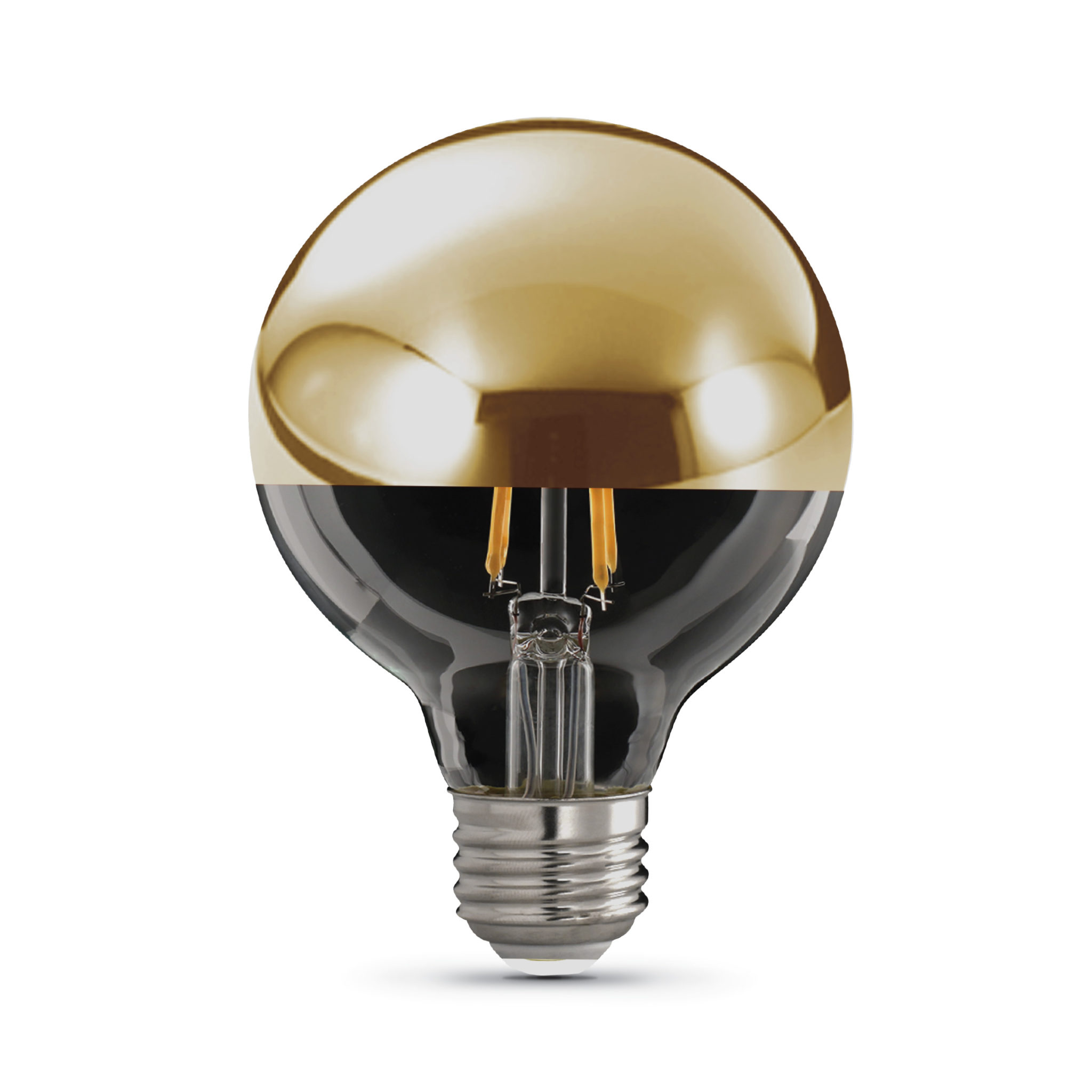 G25 Gold Dome Top Decorative Led Light Bulb Feit Electric