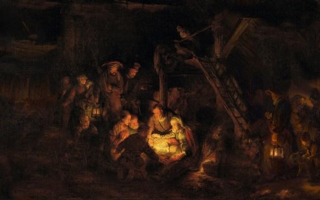 Rembrandt Van Rijn, Adoration of the Shepherds