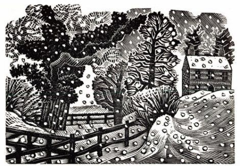 Eric Ravilious, Considerable Falls of Snow