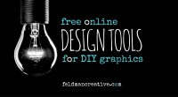 Free Online Design Tools for DIY Graphic Design