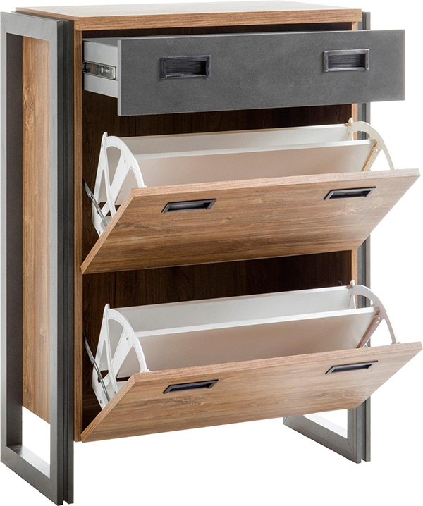 Flurgarderobe Set Garderoben-set Detroit Flurgarderobe Set 4-teilig Stirling ...
