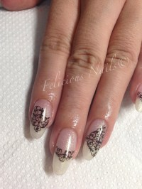 Victorian nail art | Felicious Nails
