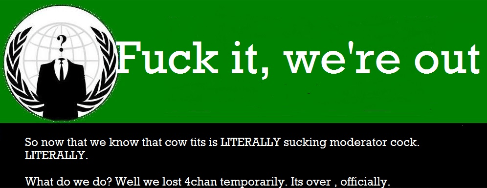 '4chan is kill'. How An Internet Dinosaur Was Brought Down