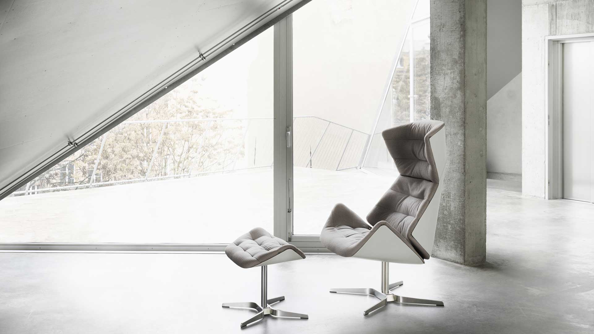 Lounge-sessel 808 Thonet 808 Aktion Sessel Hocker Felix Thonet Shop