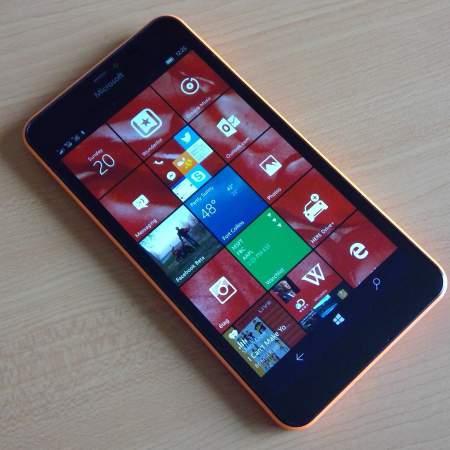 Lumia 640 Windows 10