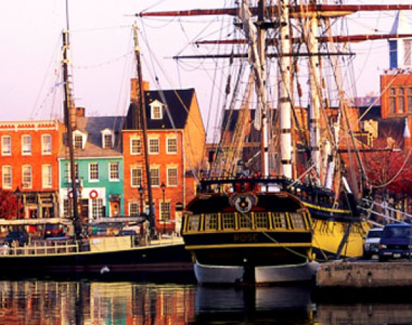 Tall Ships in Fells Point
