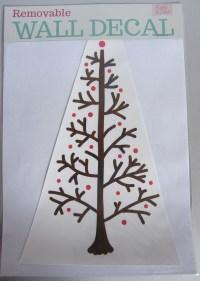 Wall decal: Christmas tree | Felt