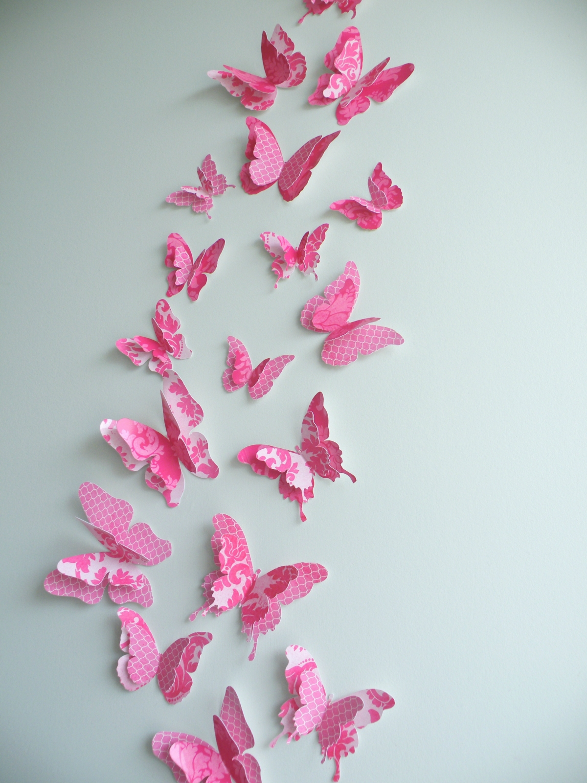 Butterfly Bedroom Themes Butterfly Wall Decor Ideas