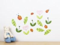 Ladybirds wall decal  medium | Felt