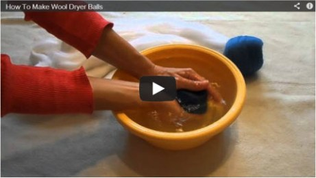 Dryer Balls Video
