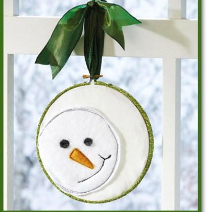Make a Hanging Snowman Craft